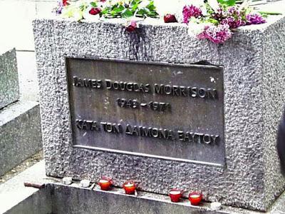 Γιατί ο τάφος του Jim Morrison έχει Ελληνική επιγραφή;  JimMorrisonGraveSite
