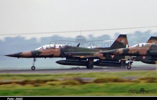 Nuevos aviones interceptores para la Fuerza Aérea Mexicana DSC09779