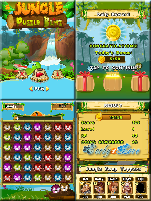 Jungle Puzzle Blitz [By Digital Chocolate] Untitled-1