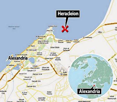 Heraclion - ciudad perdida bajo el mar Heraclion