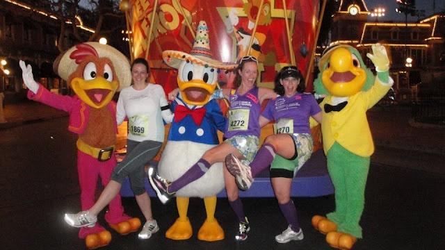 Half-Marathon à Disneyland Paris en septembre  Characters