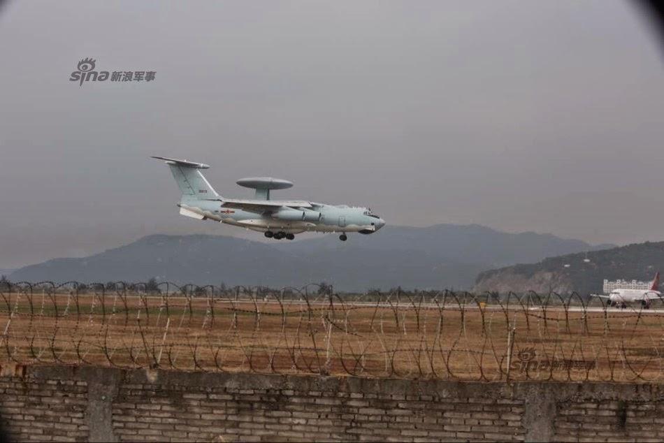 Zhuhai 2014 (11 au 16 Novembre) -  Airshow China 2014      Chinese%2BKJ-2000%2Bawacs%2Barrive%2Bfor%2BZhuhai%2Bair%2Bshow%2B2