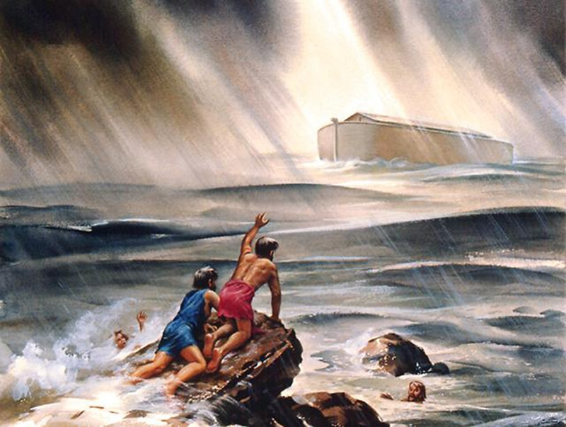 Los mejores relatos de la Mitología Griega Diluvio