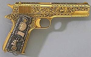 Pistola de oro de Fidel Castro vendida Cucastro_pistola_480x300_cafefuerte-1-