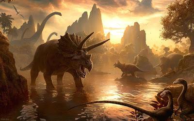 Dinosaur Hoax - Dinosaurs Never Existed! Dinosaurs-wallpaper-4%25281%2529