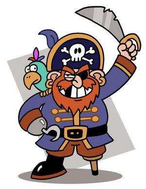 Atencion! Es importante leer el libro! Piratas