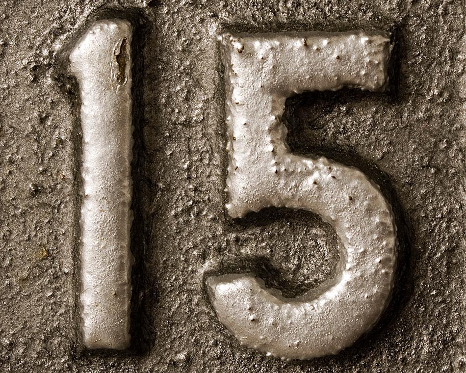 Loeme numbreid piltidega. Fifteen1