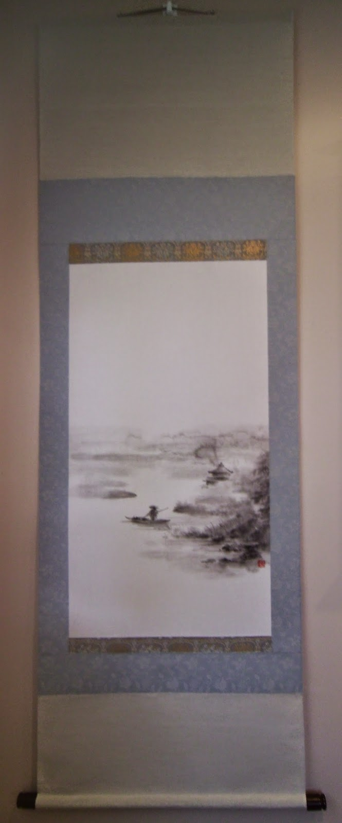 Scroll Accepted to Japanese Exhibition Tenjikai%2B1