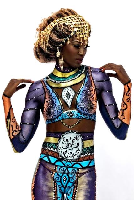Bienvenidos al nuevo foro de apoyo a Noe #246 / 18.04.15 ~ 21.04.15 - Página 40 Pintura-corporal-mujeres-negras