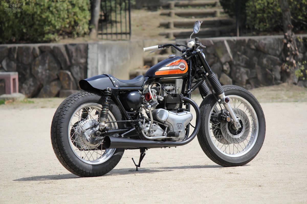Kawasaki W3 Kawasaki-W3-Dirt-Tracker-Goods-Custom-Motorcycles-1