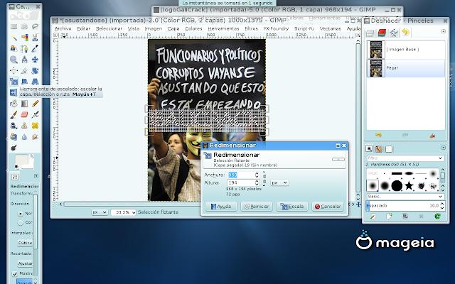 Crear/Editar Logo con GiMP FX-Foundry Linux34