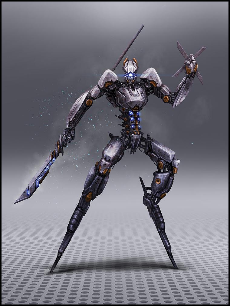 Entraînement difficile.  GS_Enemy_Ninja_Robot_finalpreview_A