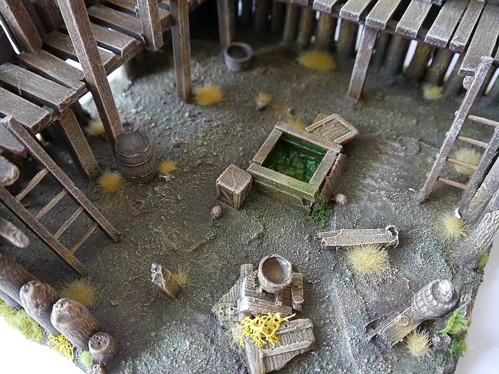 Dwalthrim's smithy - my table and terrain Zrujnowana_straznica_15