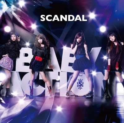"""SCANDAL >> álbum """"Baby Action"""" Cover"""