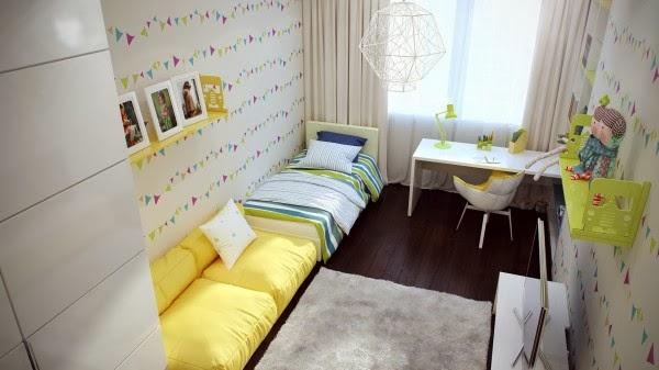 غرف نوم أطفال بألوان وتصميمات جميلة 5-Fresh-girls-bedroom-decor-600x337