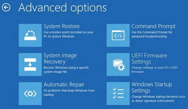 انشاء نقطة استعادة نظام System Restore في الويندوز 8