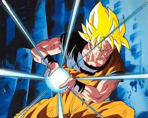 Veja uma ficha de personagem Goku