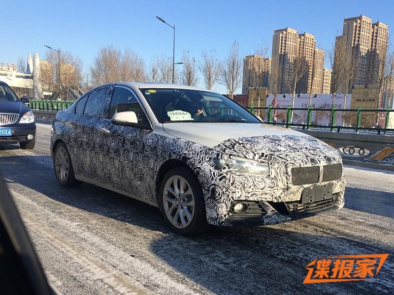 2016 - [BMW] Série 1 Sedan [F52] - Page 5 BMW-1-Series-Sedan-1