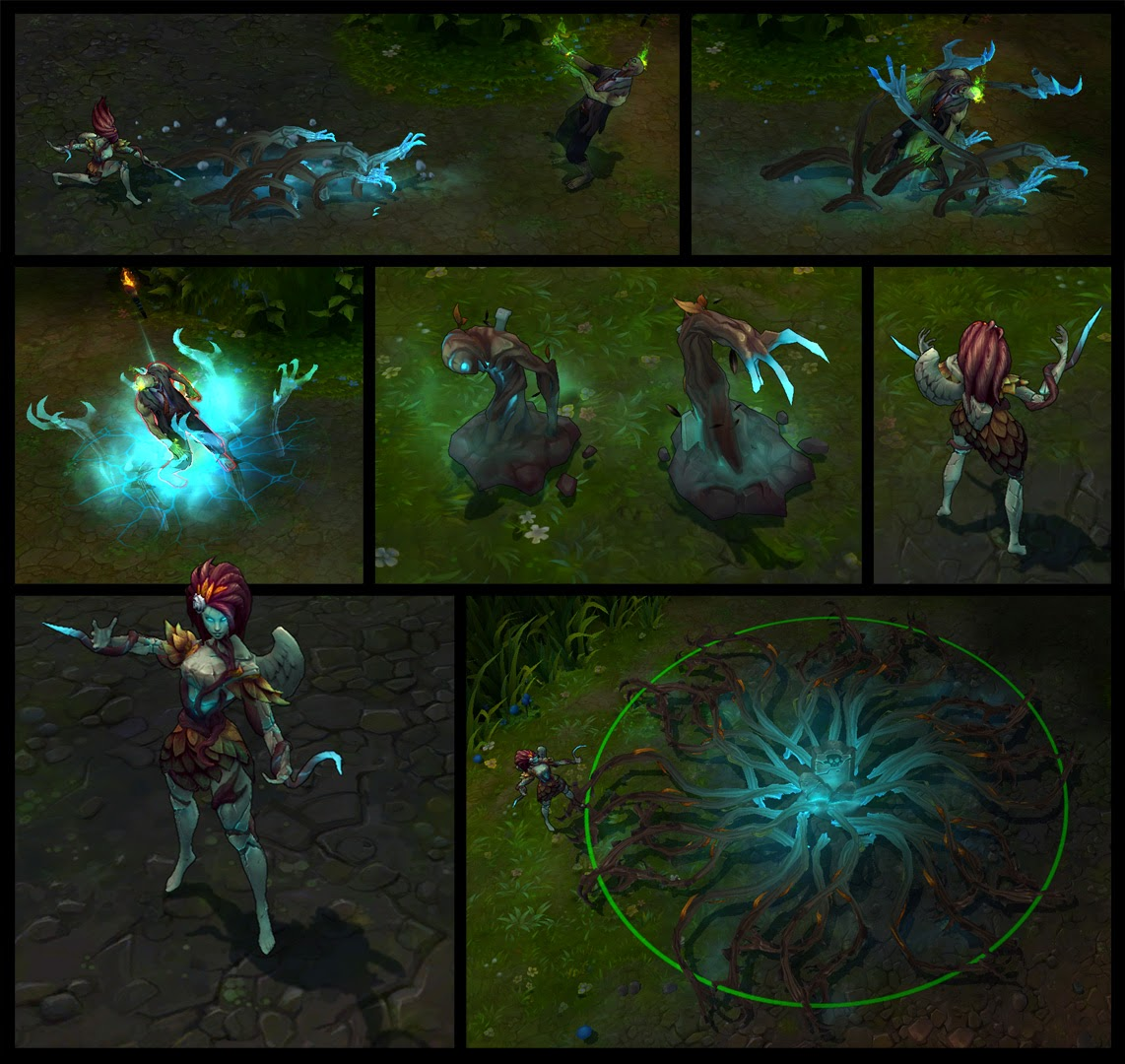 P.O League Of Legends Champs And Skins - Página 8 Haunted_Zyra_Comic