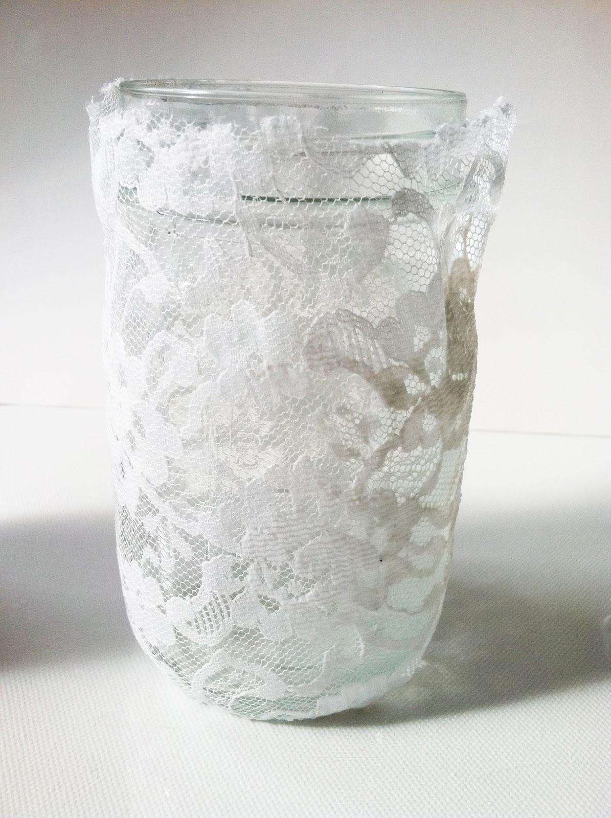 Project DIY: Lace Mason Jars  IMG_6154