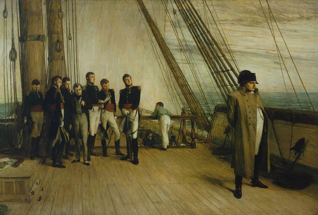 Napoleão Bonaparte 12%2B-%2BNapoleon_on_Board_the_Bellerophon_-_Sir_William_Quiller_Orchardson