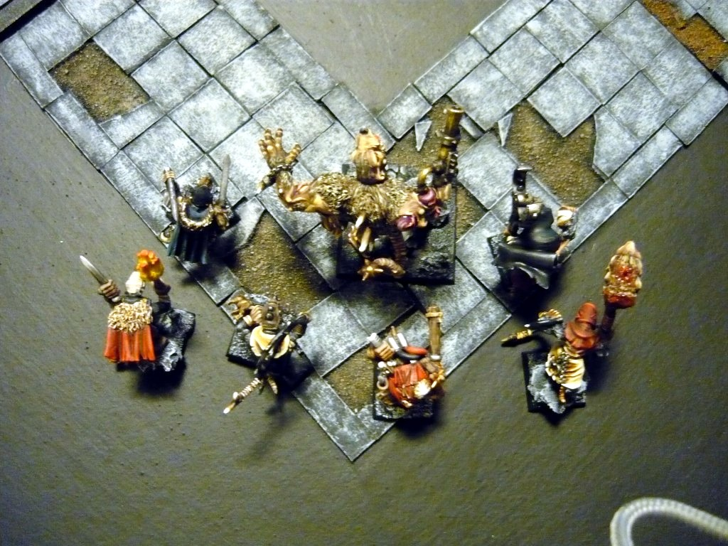 Testing Karak Zorn - first battle in the dungeons P1050498