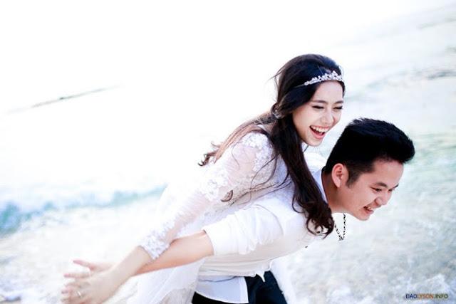 Bộ ảnh cưới lãng mạn của cặp đôi 9X tại đảo Lý Sơn  4