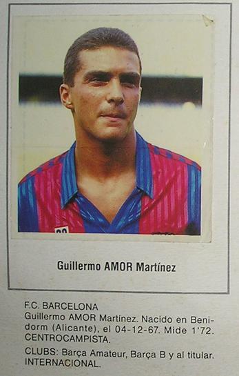 ¿Cuánto mide Guillermo Amor? Amor