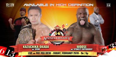 Verdade ou Mito #61 - Especial ROH 14th Anniversary 022616okada-vs-moose2