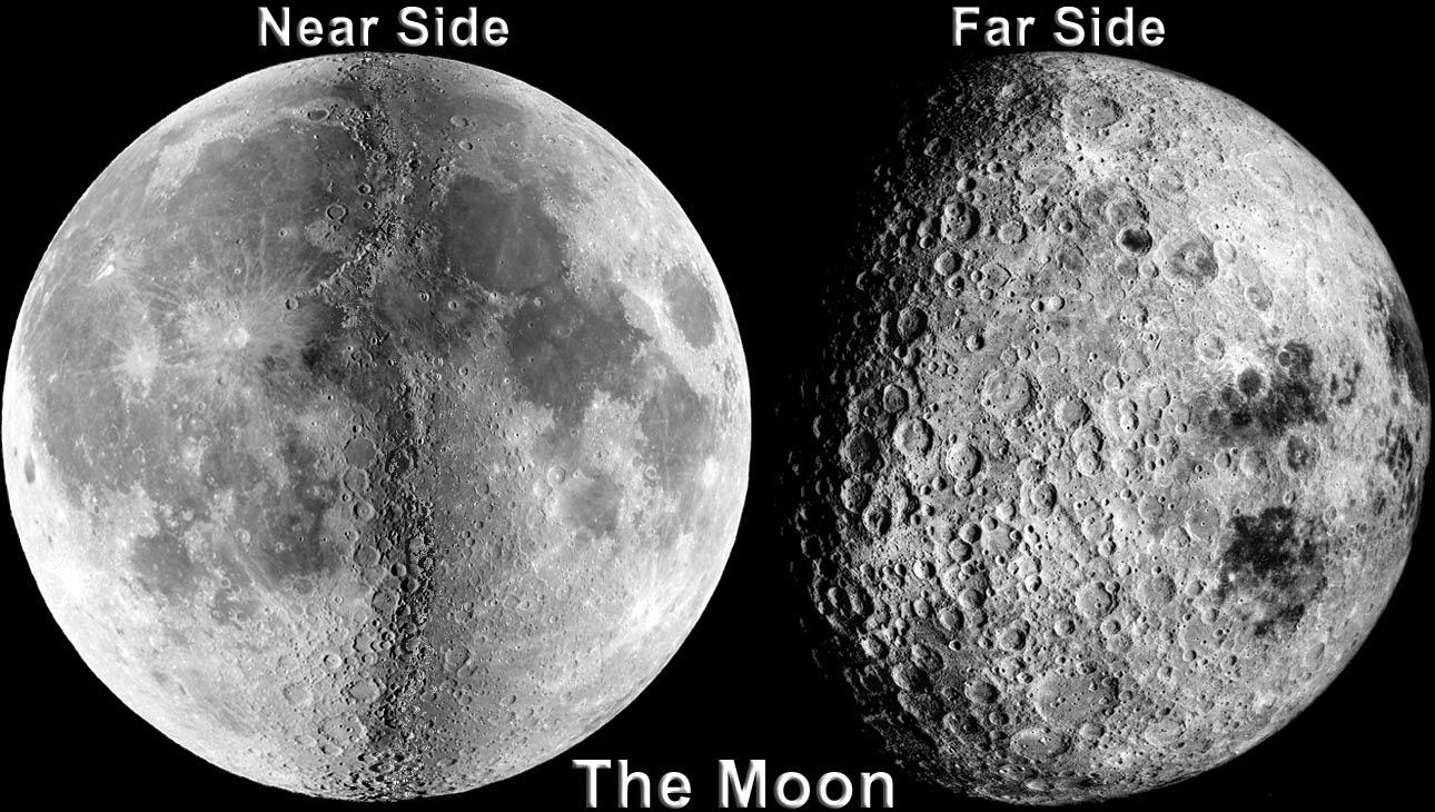 பொது அறிவு - அறிவியல் விளக்கம் (தொடர்) Moon_craters