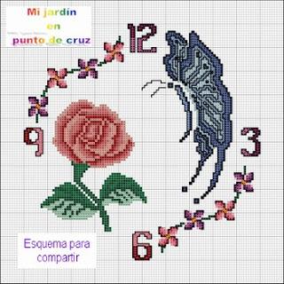 نقلات رائعة وواضحة تطريز فلاحي 390975_328773140_110-reloj-con-rosa-y-mariposa_H230551_L