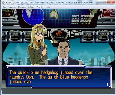 Le projet de traduction de Segagaga n'est pas mort Tada