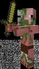 Liste des mobs minecraft Porco-zumbi