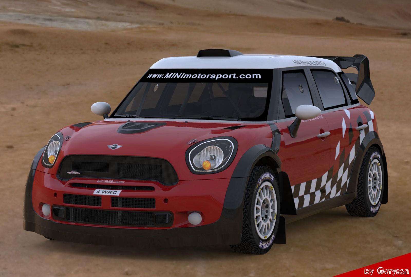 Mini John Cooper Works Countryman S2000 y WRC  by Garyson Rbrplusmini2
