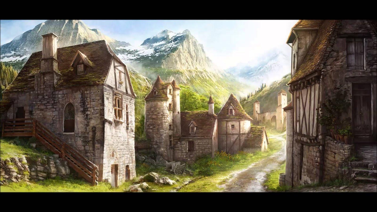Le pietre di Plouhinec Fantasy%2Bvillage