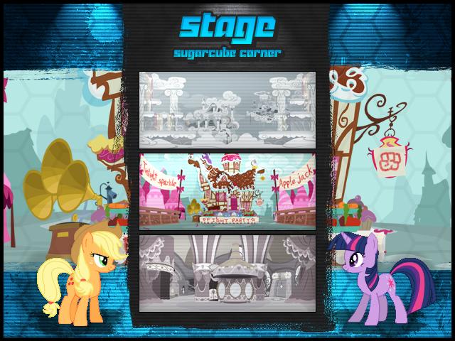 MLP Fighting is Magic: Un nouveau FanGame développé par Mane6 Stagesel