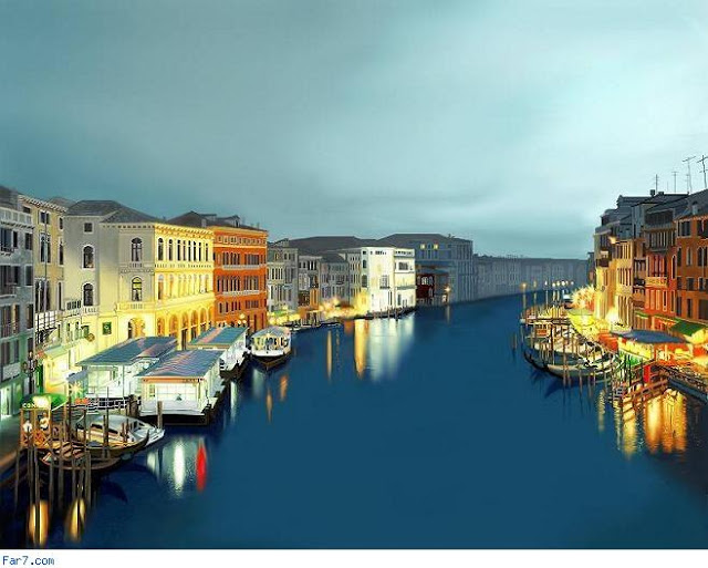 رحلة إلى مدينة القوارب البندقية '' فينيسيا  10900alsh3er
