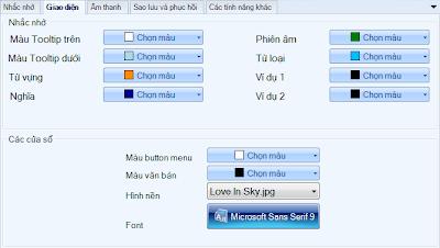 Phần mềm học từ vựng English ToolTip.... O_GUI