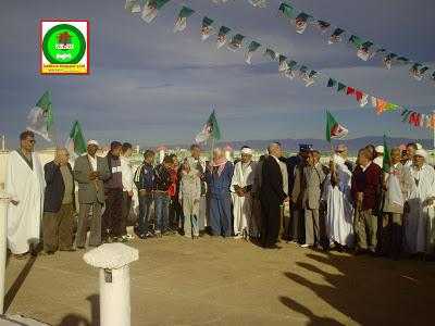 الإحتفال بالذكرى58لإندلاع ثورة 1نوفمبر 1954 المجيدة بمدينة زريبة الواد PICT0852