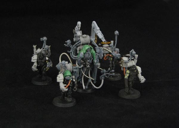 Warhammer 30k Sons of Horus  Dark_Mechanicus_WIP_11