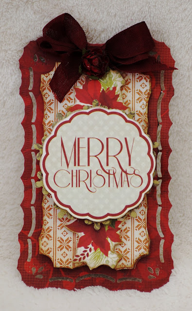 29 september 2013 Firstly – Vintage tags featuring the Christmas Carol Collection for the adult pres TT1