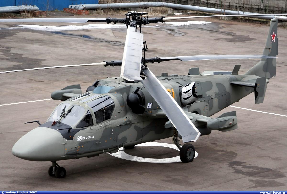 Kamov Ka-52 Alligator   ( helicóptero de ataque biplaza todo tiempo Rusia ) Ka-52%2BAlligator%2BCombat%2BHelicopter2