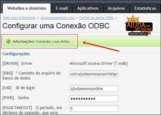 [TUTORIAL] Como Criar uma Conexão ODBC na hospedagem para Shop de MuOnline (Painel Plesk) Odbcshop7