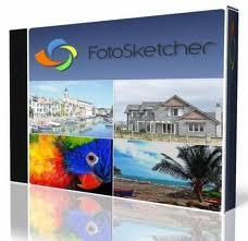 FotoSketcher 2.70 لتحويل الصور العادية الى صور مرسومة بقلم رصاص FotoSketcher