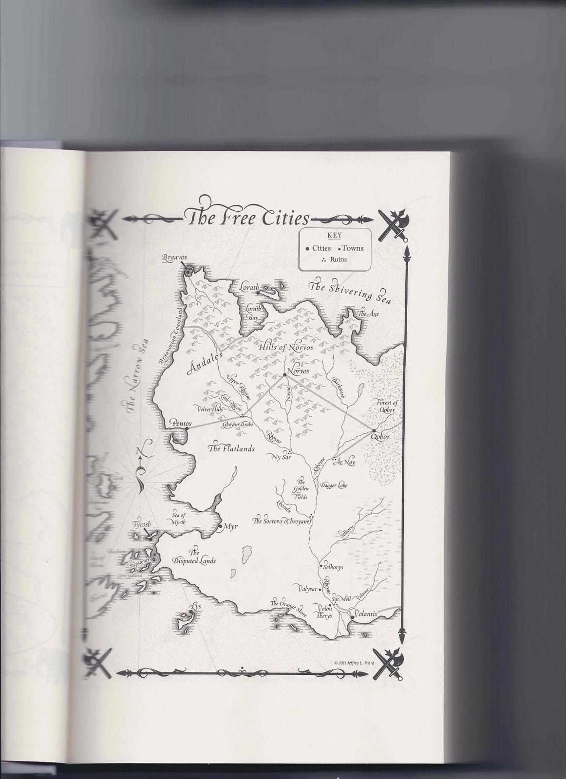 Карти на Вестерос и отвъд Freecitiesfrombook