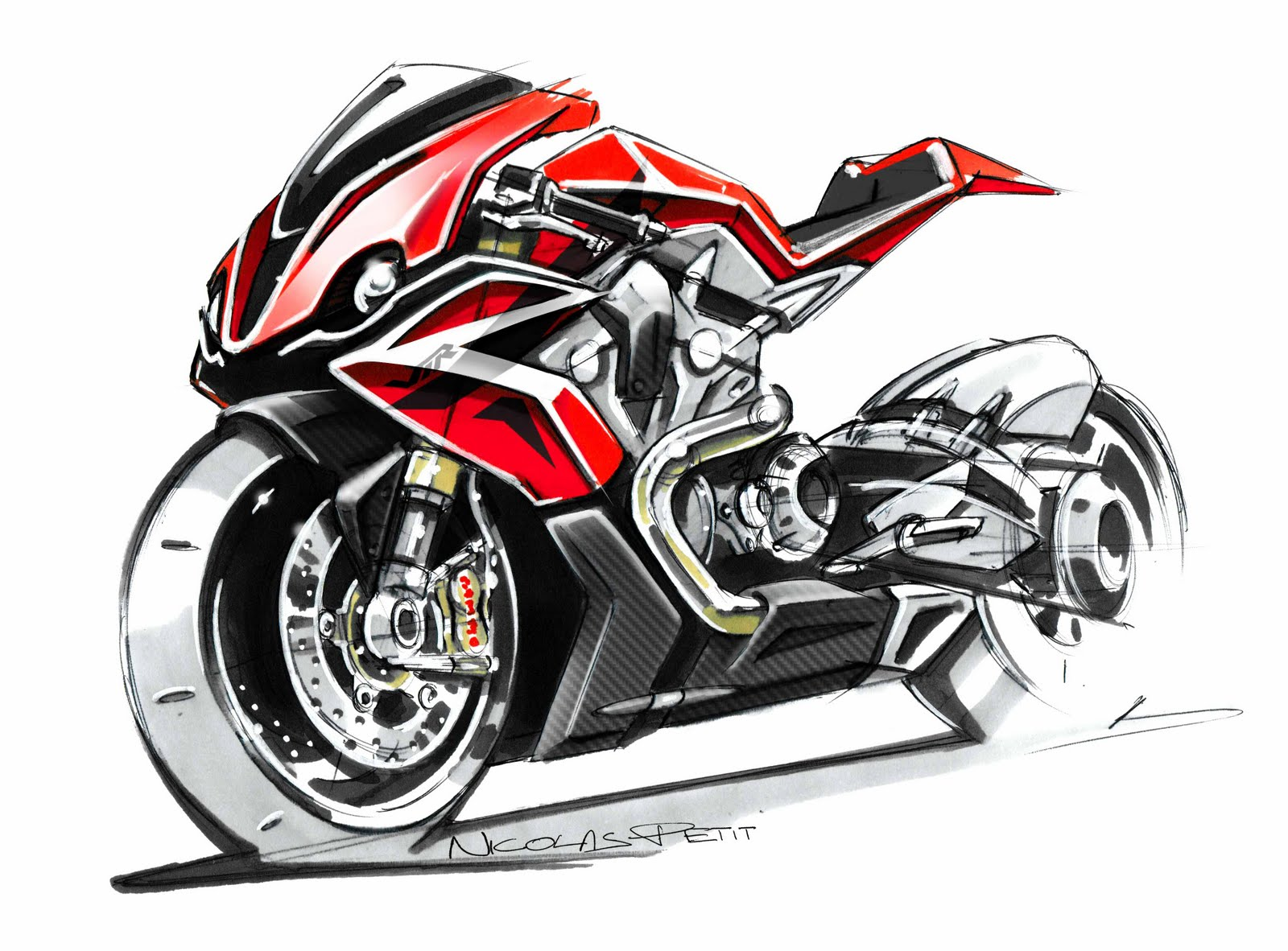 Concept/design/photomontage sur R  - Page 2 Honda%2BVTR%2B1200%2Bby%2BPetit%2BMotorcycle%2BCreation%2B01