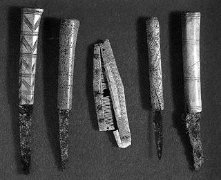 Ритуальный нож. N1