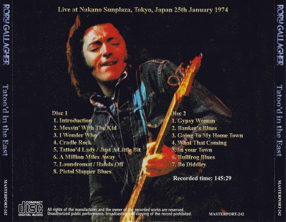 """Tatto'd In The East"", Nakano Sunplaza, Tokyo, Japon , 25 janvier 1974 (bootleg) 1974.01.25.Tokyo%2B%2528Tattoo%2527d%2BIn%2BThe%2BEast%2529-2"