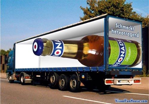 Opticke iluzije - Page 5 Painted-truck-pepsi-optical-illusion2
