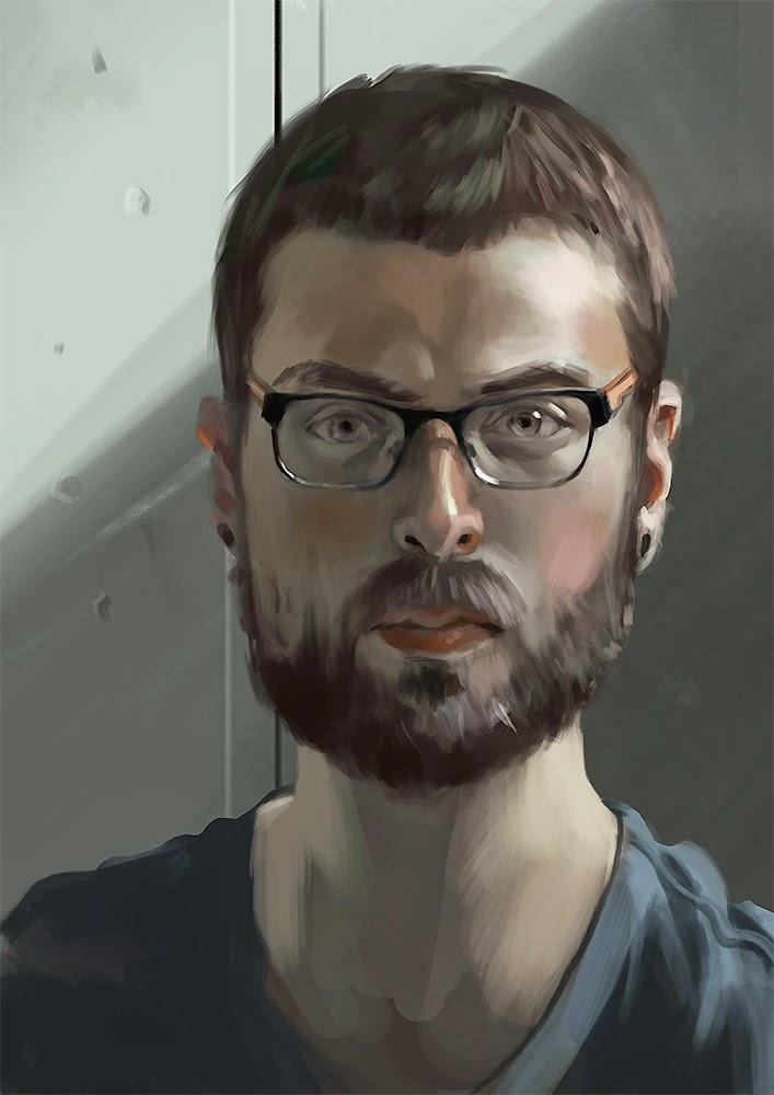 Léa passion dessin - Page 3 Auto_portrait_13_05_14